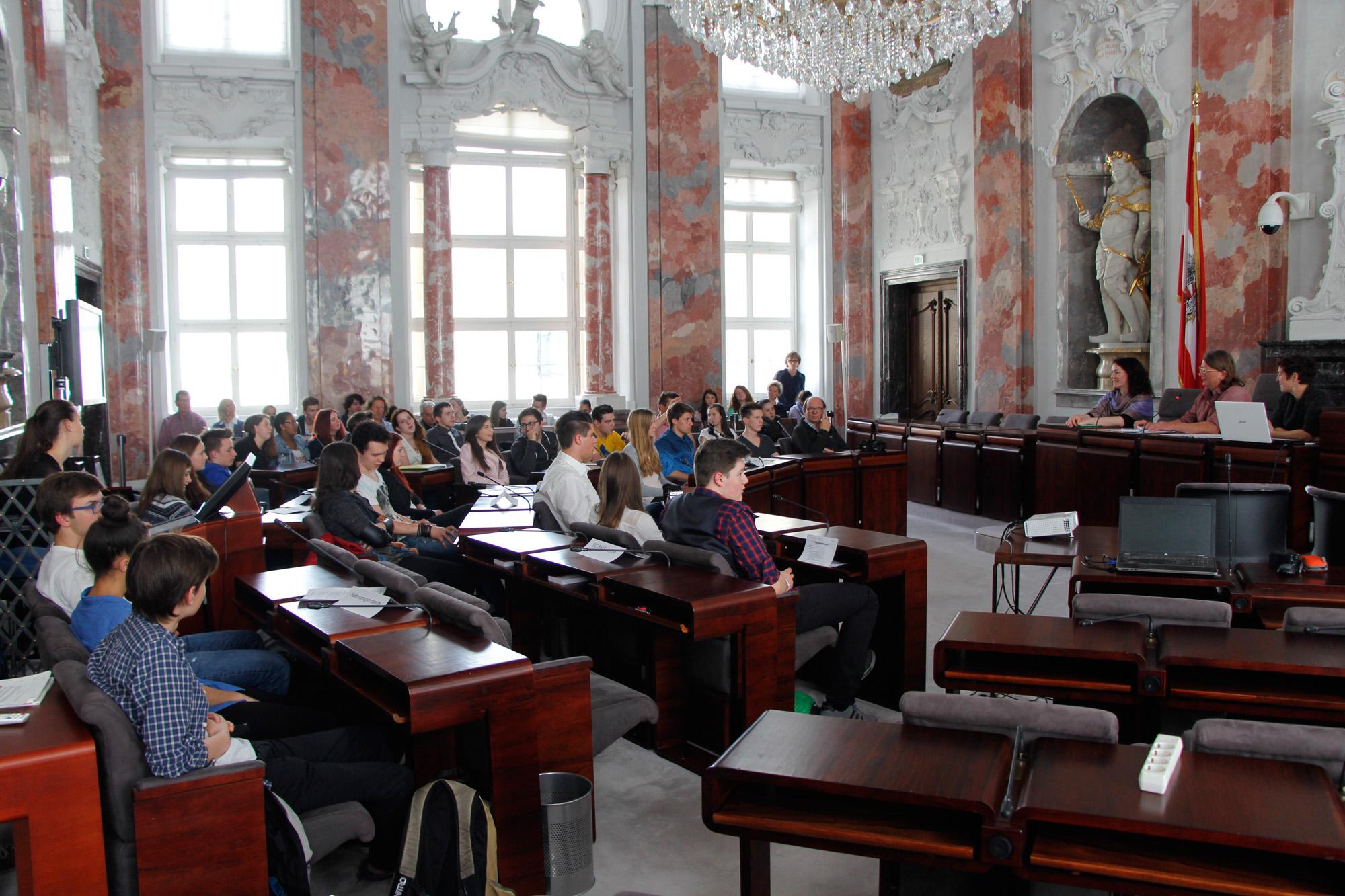 Natopia SchülerInnen Landtag