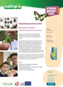 Insekten-Unterricht natopia