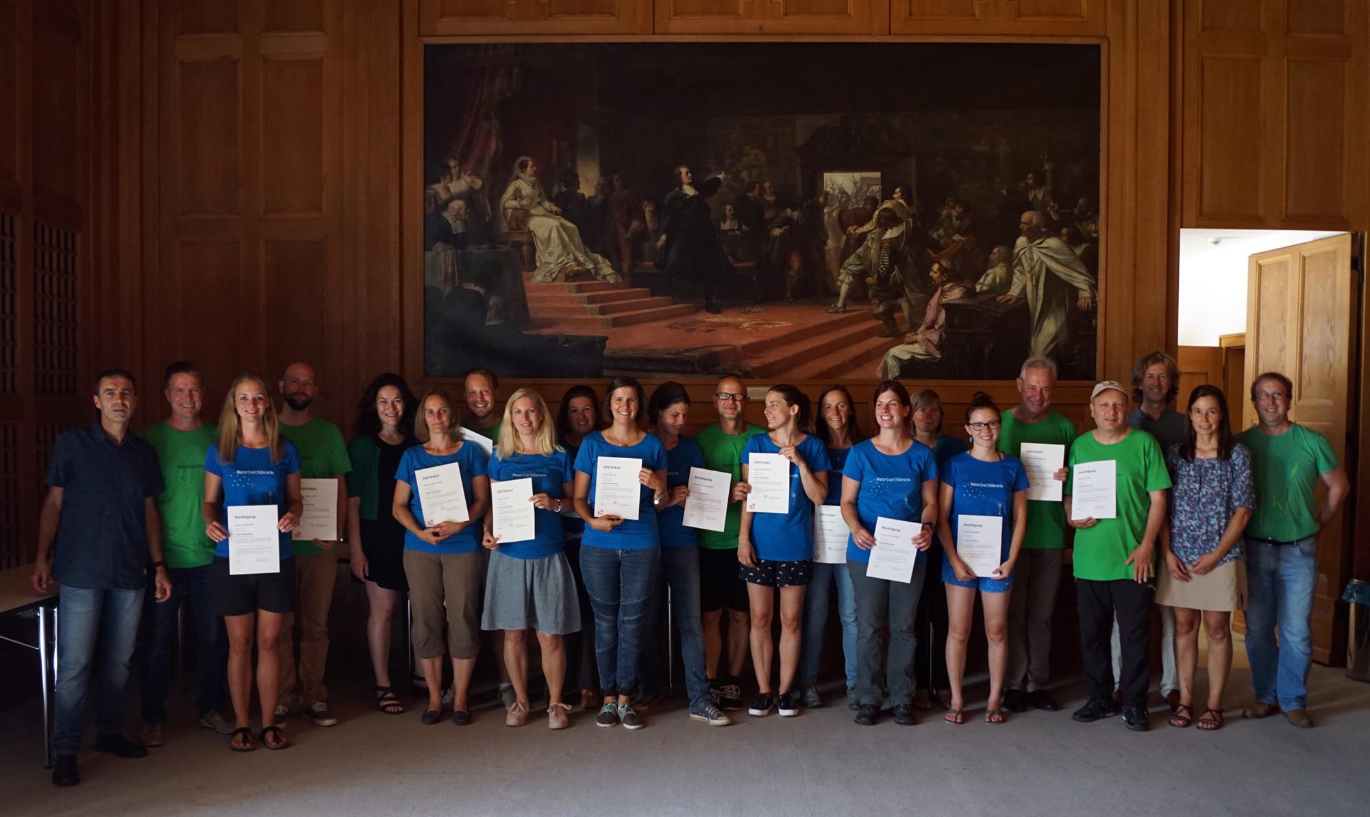 Naturführerkurs-Abschluss Im Landhaus – 7. Juli 2017