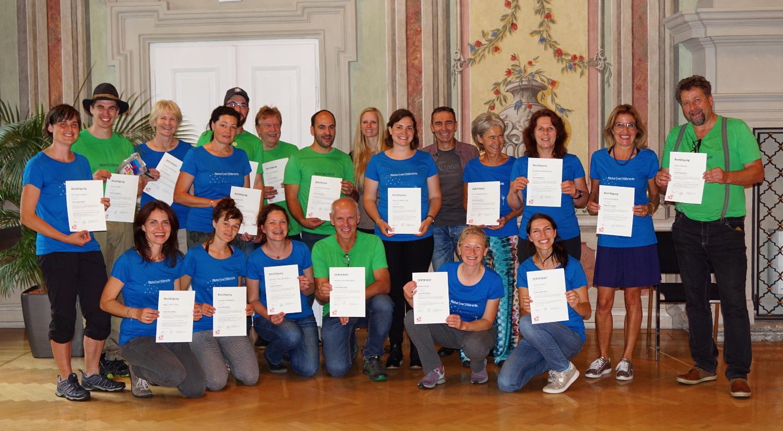 Naturführerkurs-Abschluss Im Landhaus, 6. Juli 2018