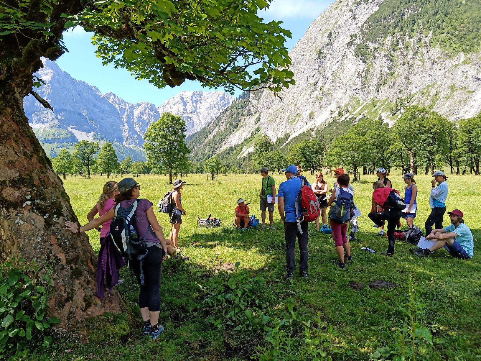 Wo Das Wasser Den Ton Angibt – Tiroler Naturführerkurs Modul 1 In Hinterriß, Naturpark Karwendel, 9.-12. Juli 2020